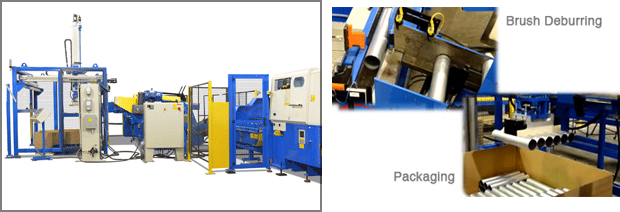Integrated Stacking/Packaging System