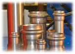 Servo Double End Finisher for Pipe Couplings