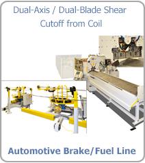 Dual-Axis / Dual-Blade Shear Cutoff from Coil