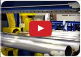 Multiple station end finishing and inspection video player