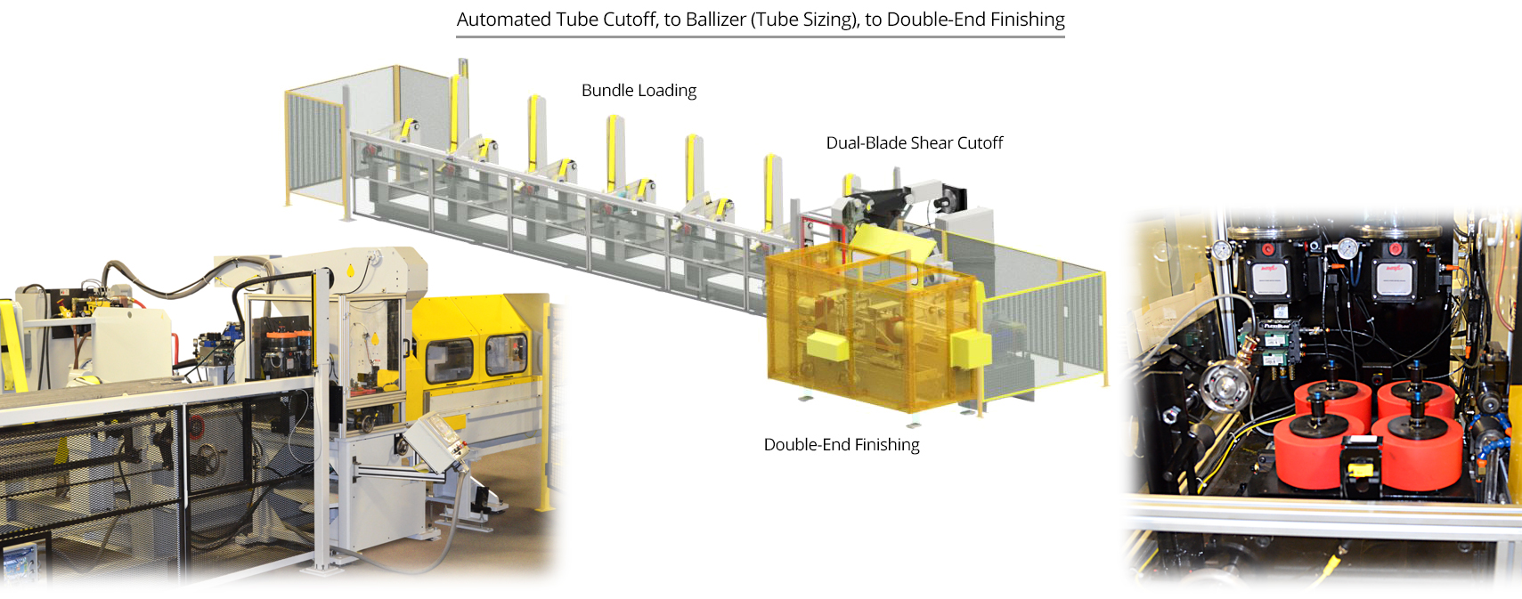 automated tube cutoff