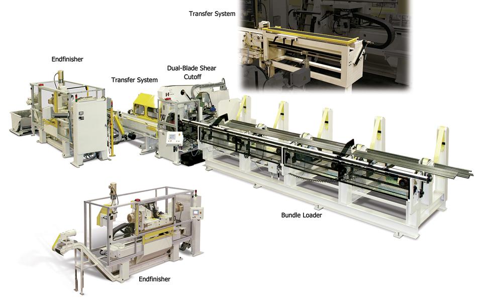 Dual-Blade Shear tube cutoff