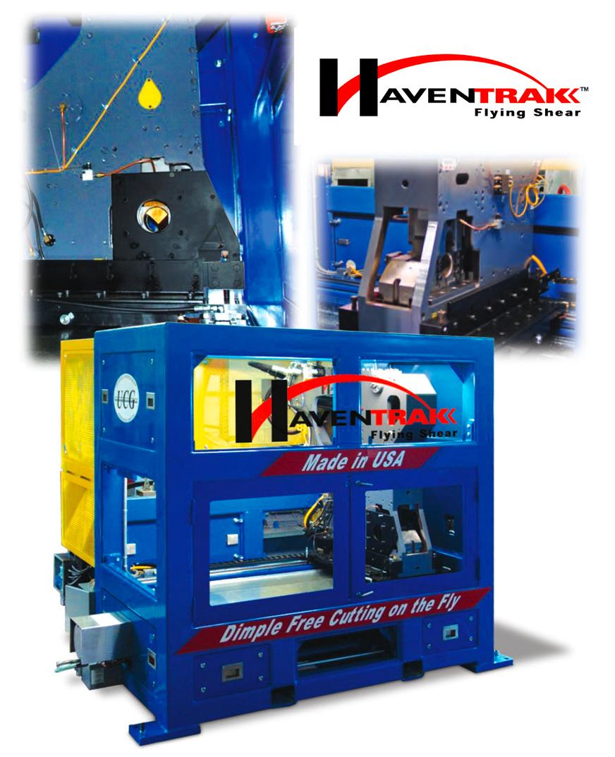 HavenTrak™ Flying Shear tube cutting machine