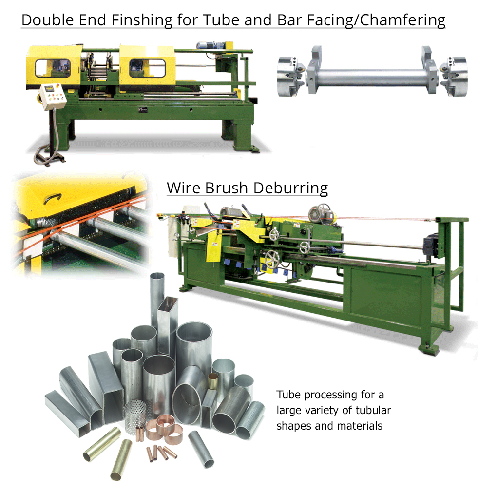 Double End Facing and Chamfering machines