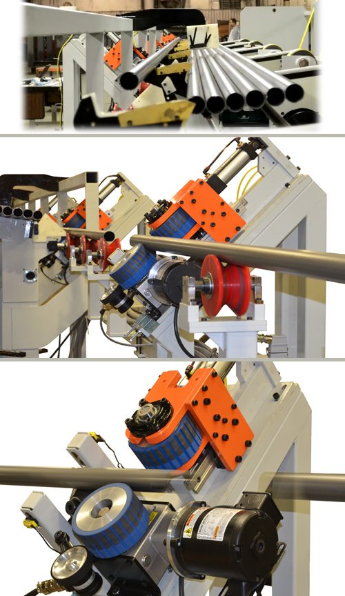 Tube Washer Loader-Continuous Flow Material Handling System