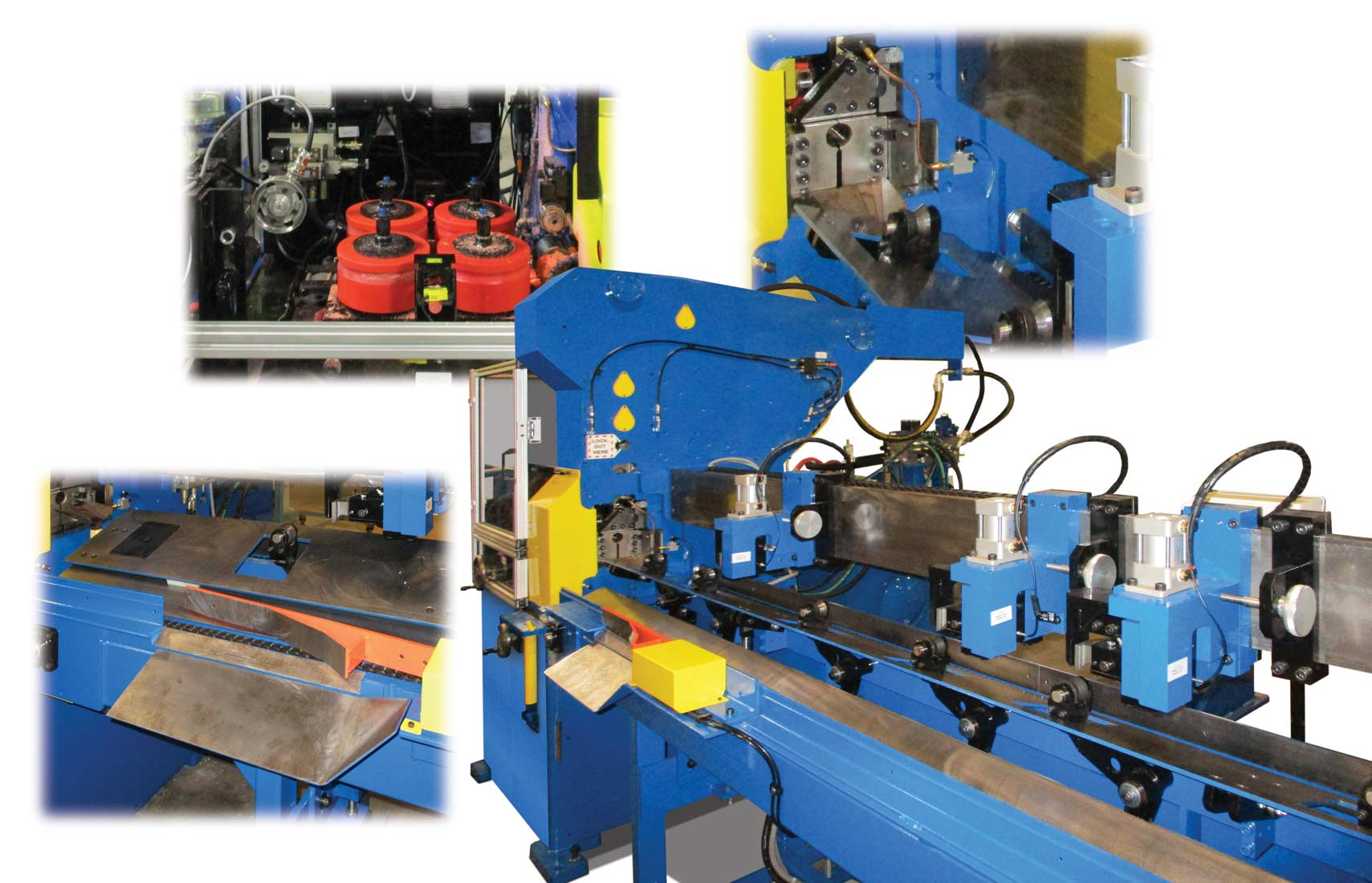 873 Dual-Blade Shear Cutoff machine
